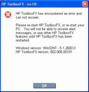 HPToolboxFX_Error